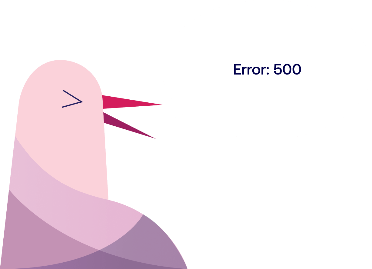 500 - Oops. Unexpected error.